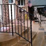 Front Step Railing